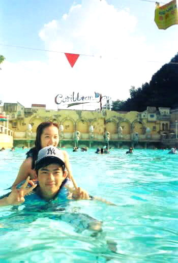 [Pre Debut] JOO and Taecyeon (2PM) in Caribean Bay