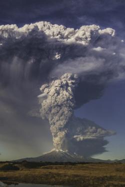 mine volcano landscape chile eruption Patagonia Calbuco WATSF