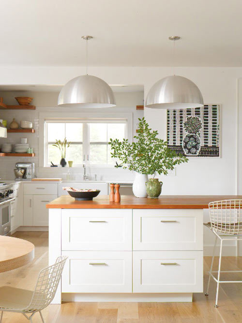 myidealhome:  neat kitchen (via Design*Sponge)   Dream kitchen.