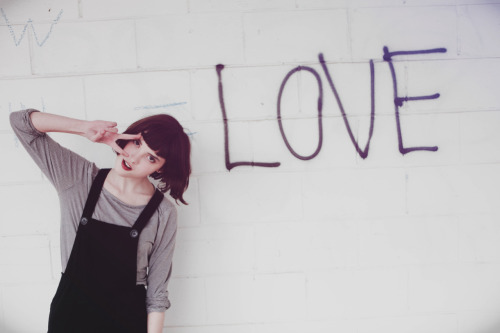 L.O.V.E  Model: Cadence  Photographer:  Samantha Collie