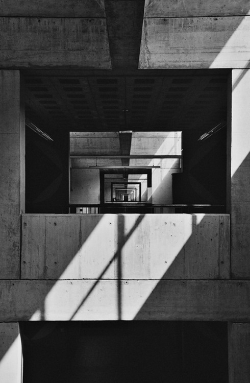 n-architektur:  Mittelschule, Morbio Inferiore, Switzerland  Mario Botta, 1972-1977 Photo: krss