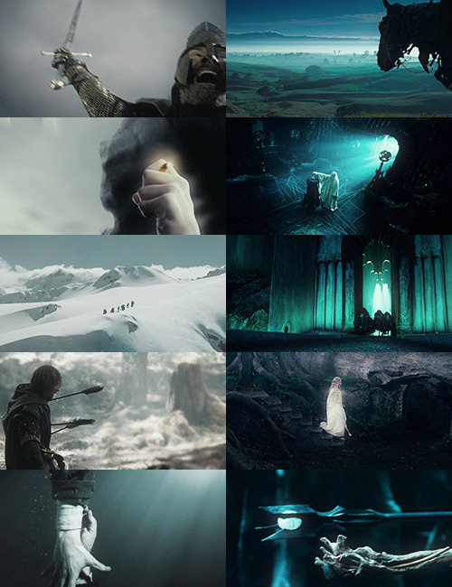 the fellowship of the ring + space