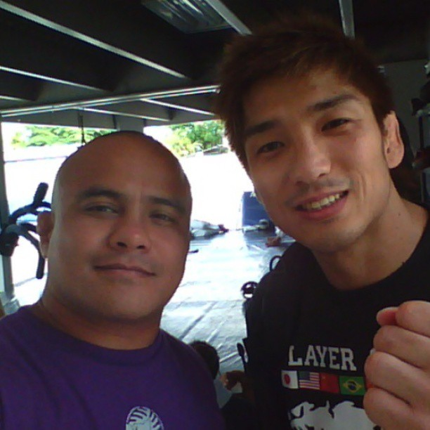 Hideo Tokoro @ #spike22 lunchtime roll.#japan  #dream #mma