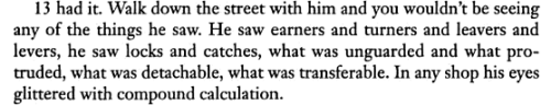 —Martin Amis, The Information