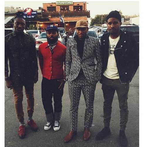 streetetiquette:  PF Pop Up // Myself , @thebkcircus @travisgumbs and Mos Def #yasiinbey #Houston #clique