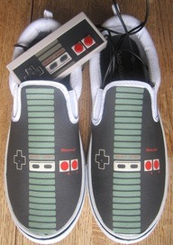 Nintendo shoes - for the groom, groomsmen.
