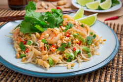 foodopia:  spicy peanut pad thai: recipe here