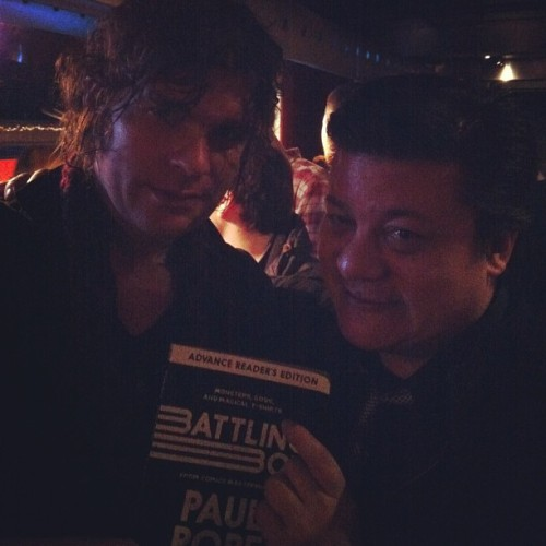 Advance copy if Battling Boy, bitches. #PaulPopeIsMyBitch