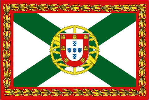 Prime Minister of Portugal, since 1972 High government officials are allowed to fly their own flags, with the Prime Minister's one being the most ornate. Regular cabinet ministers fly the same flag minus the red border, and the President flies a flag with a plain green background.