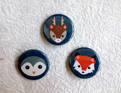 Just listed a brand new button set :) For sale here!