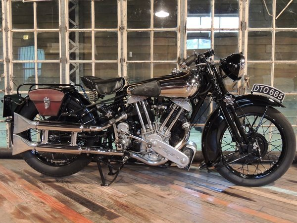 Brough Superior MX100 1937