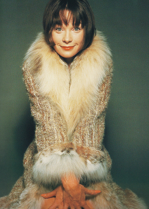 Shirley MacLaine, 1965. Photographed by David Bailey.