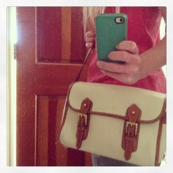 Diggin' this vintage Dooney satchel that just came in today!!