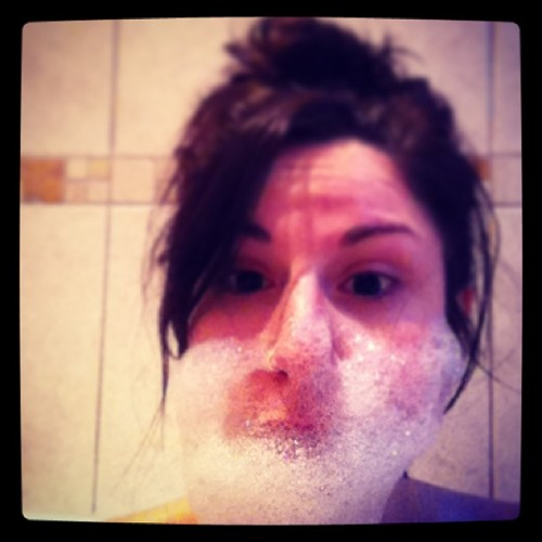 Bubble beard #bubbles #beard #bath #rugged