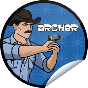 I just unlocked the Archer Episode 3 sticker on GetGlue                      1887 others have also unlocked the Archer Episode 3 sticker on GetGlue.com                  Yes, Krieger has had virtual girlfriends, but this sticker is definitely real. Thanks for checking-in to episode 3. Share this one proudly. It's from our friends at FX.