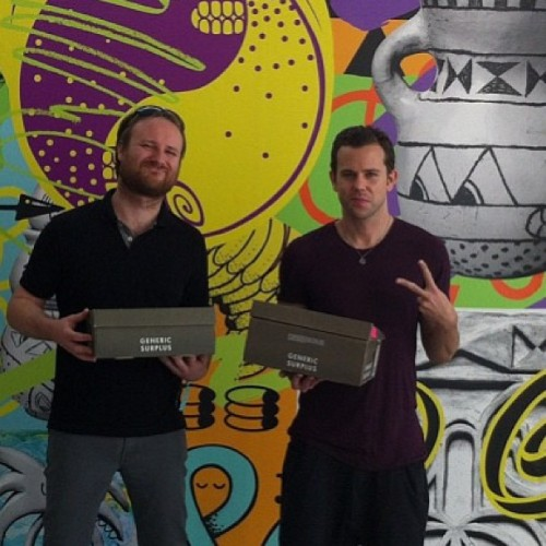 genericsurplus:  Stoked for our boys in #m83 and their 2 #grammy nods. Best of luck tomorrow fellas! (From our @s_harrington pop up at the #acehotel #palmsprings last year)
