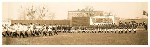 105 Years Ago Today... Opening Day Ceremonies - Hilltop Park, NY - April 14, 1908Philadelphia Athletics vs. New York Highlanders (NY 1 - Phi 0)