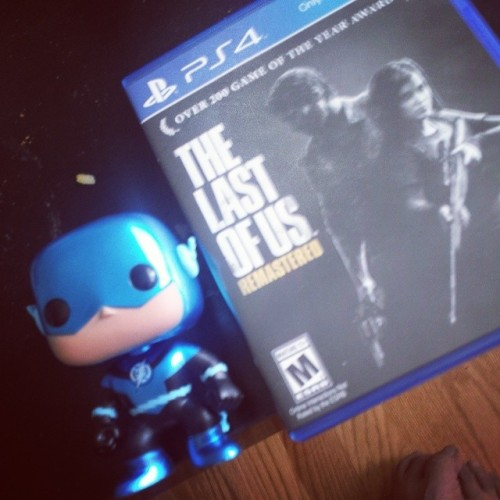 Blue Lantern Flash approved. #thelastofus #ps