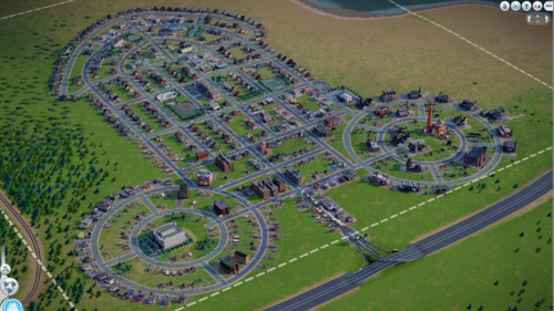 I guess it had to be done playing the new Sim City game.
