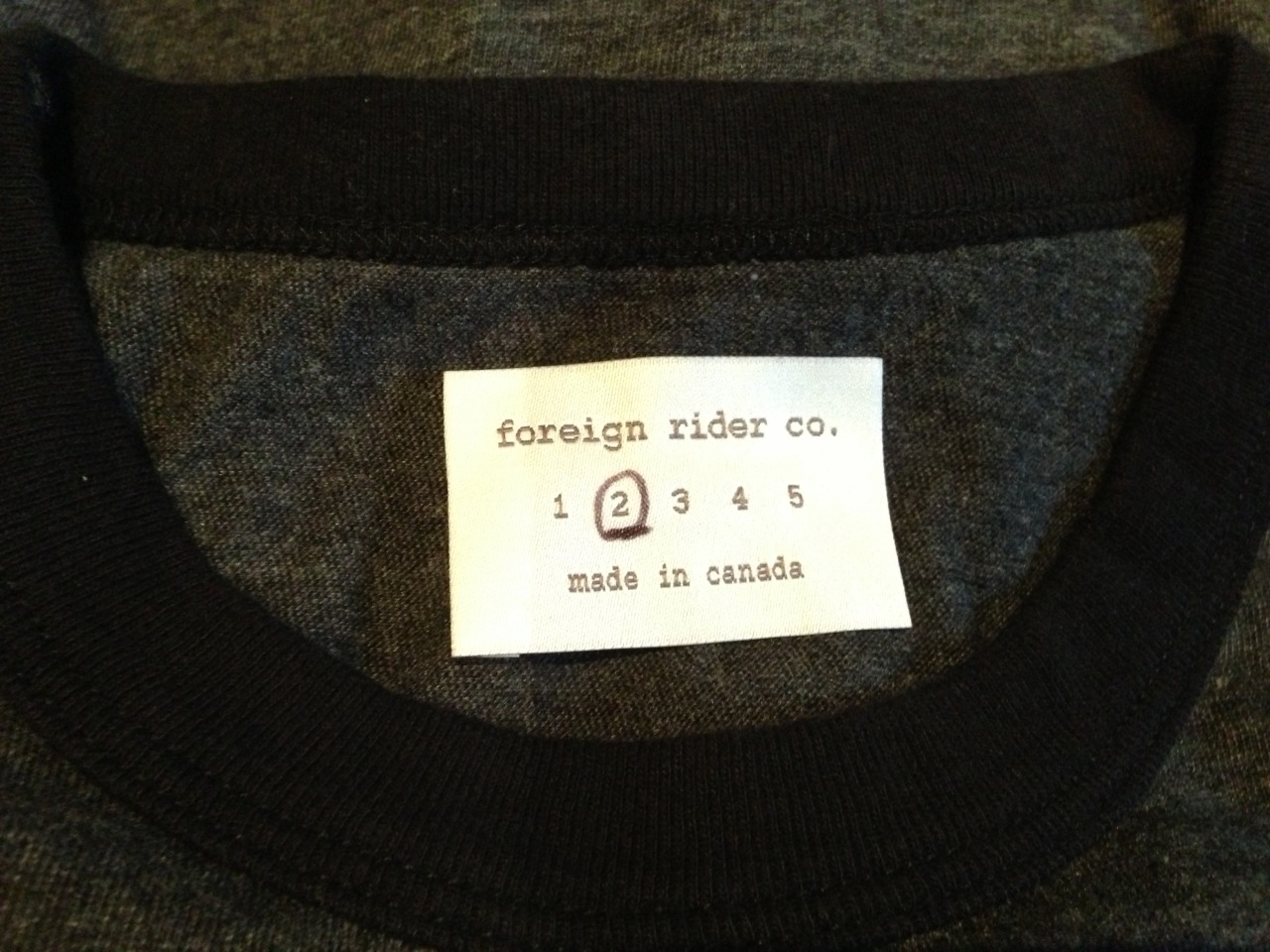 new label - each piece is hand inspected then size is circled once spec measurements are perfect..
