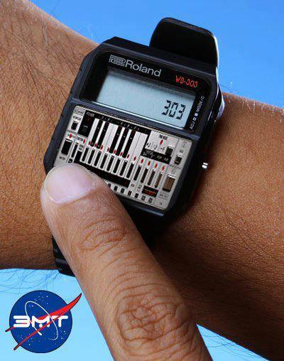 Roland 303 watch (Via: Acid Casuals)