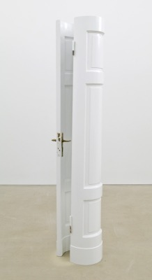 Alicja Kwade. Eadem Mutata Resurgo. 2013. Wood. 85 x 19.75 x 11.75 inches. Lisa Cooley Gallery