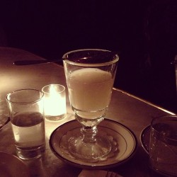 Absinthe birthday. 👌 (at Maison Premiere)