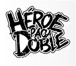 "logo design & photography i did for ""Heroe Paga Doble"", check 'em out!."