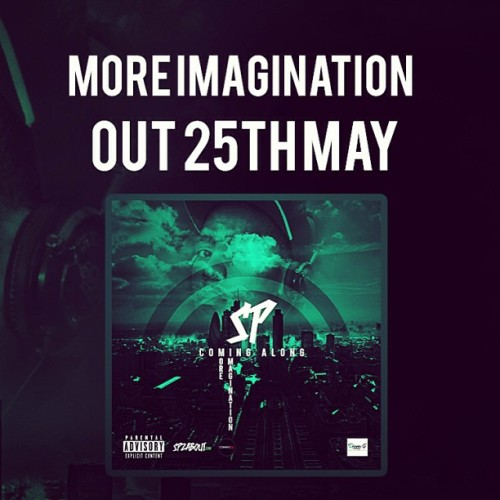 More Imagination Out 25th May Stay Locked. Visit www.SpzAbout.com for info also look out for the sampler out tonight mixed by @surgerydj