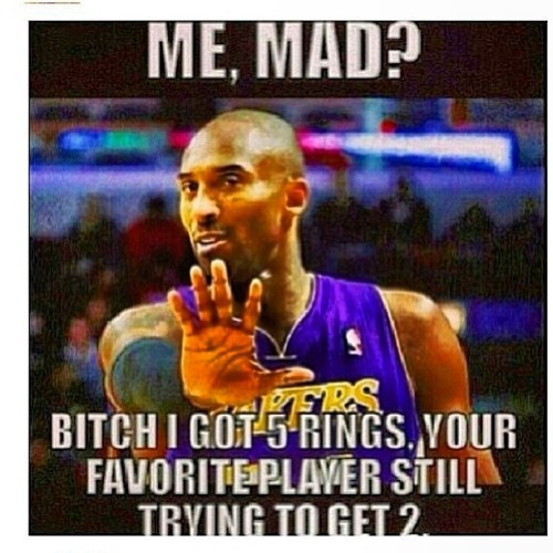 "#RG #Repost @hx_nino oh yeah! ""Sick of the Kobe slander"""