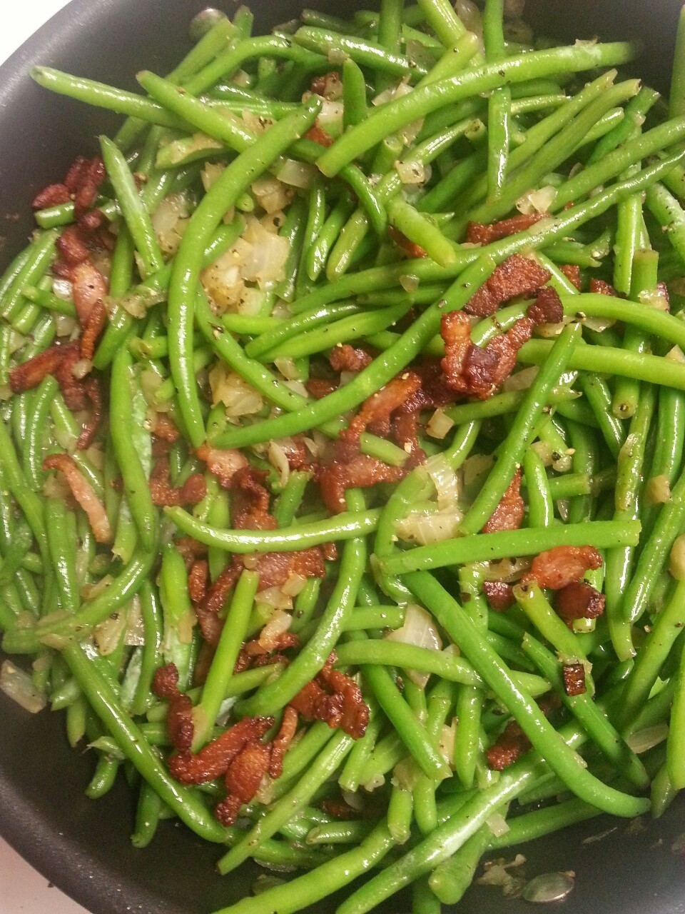 Green Beans and Bacon…Yes, Please!