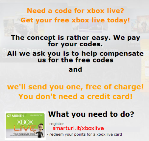 refhunter:  How to earn Xbox live cards → Check it out!