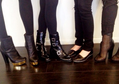 rachelzoe:  RZ footwear having a moment in the office  Need these in my life