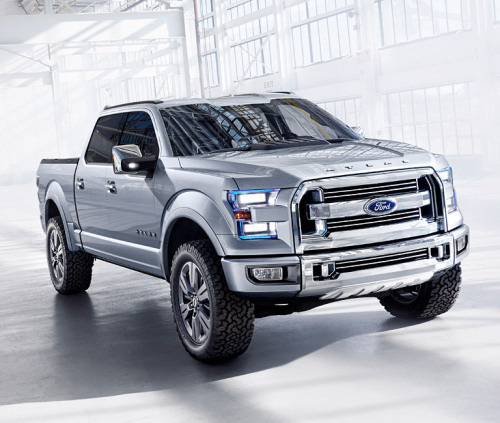 Breakdown: Ford Atlas Concept. Now this is a damn pickup truck.
