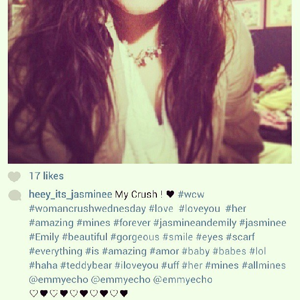 So Sweet! ♥ @heey_its_jasminee  #mademyday #student #loveher