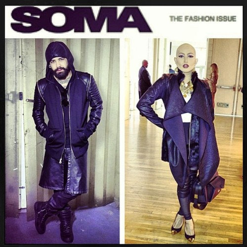 #regram from my favorite @ashtonmichaella for #somagazine during #nyfw.  #fbf.
