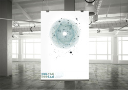 The Vector Can_ Poster created to promote the launch of a new design company.