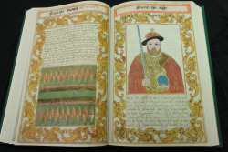 In addition to this page on Henry VIII, there is a whole page of text following detailing his life and foibles.