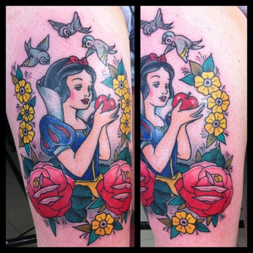 my disney tattoo by Sailor Marc