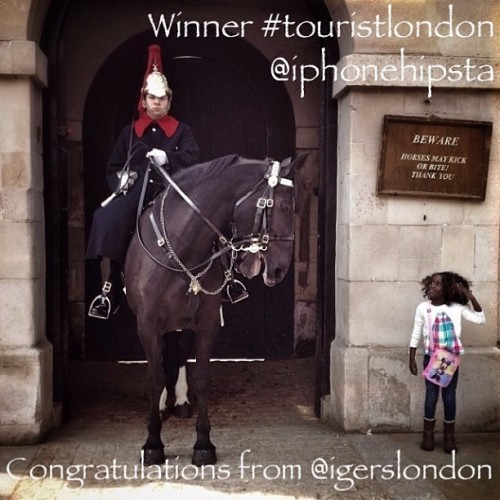 Announcing our #touristlondon winning image from @iphonehipsta! Contest sponsored by @lastminute_com and @shardview We loved Marina's image, it had humour, it had charm, and it captured what is unmistakably #touristlondon. Congratulations! Please drop us an email so we can get your prize to you, address in our profile. Thank you to everybody who submitted such amazing images to our contest, over 2000 tagged so far, and for allowing us to show the Instagram community what we and tourists love about London. And a big thank you to Lastminute.com for donating the fabulous prize, a pair or View from the Shard tickets.
