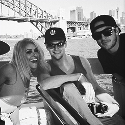 Katerina, Michael and Zach in Australia, 9-12.05.13.