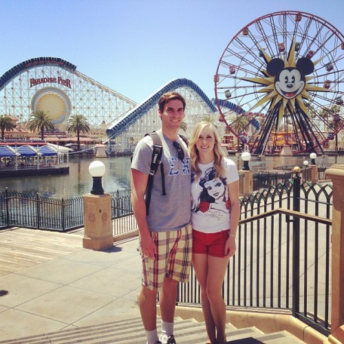Perfect day with @taymofasho 👫❤🎡 (at Disney California Adventure Park)