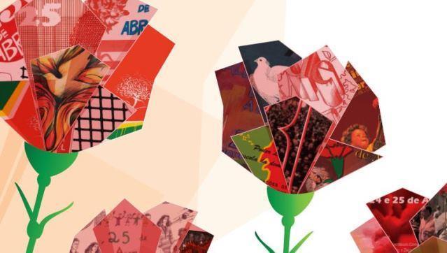 """O 25 de Abril na Poesia e na MúsicaA partir do dia 9 de abril e até 30 de abril a Biblioteca Municipal de Redondo vai acolher uma Exposição Documental intitulada """"O 25 de Abril na Poesia e na Música""""."""
