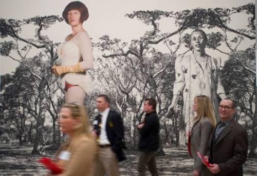 The Cindy Sherman exhibition at the Dallas Museum of Art starts today! If you live in the area, make sure to see it, especially since this is the last stop of the touring retrospective.