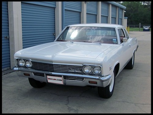 musclecardreaming:  66 Big Block Biscayne