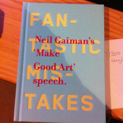 I guess today is a #neilgaiman kinda day #makegoodart #bookdepository #mail #book