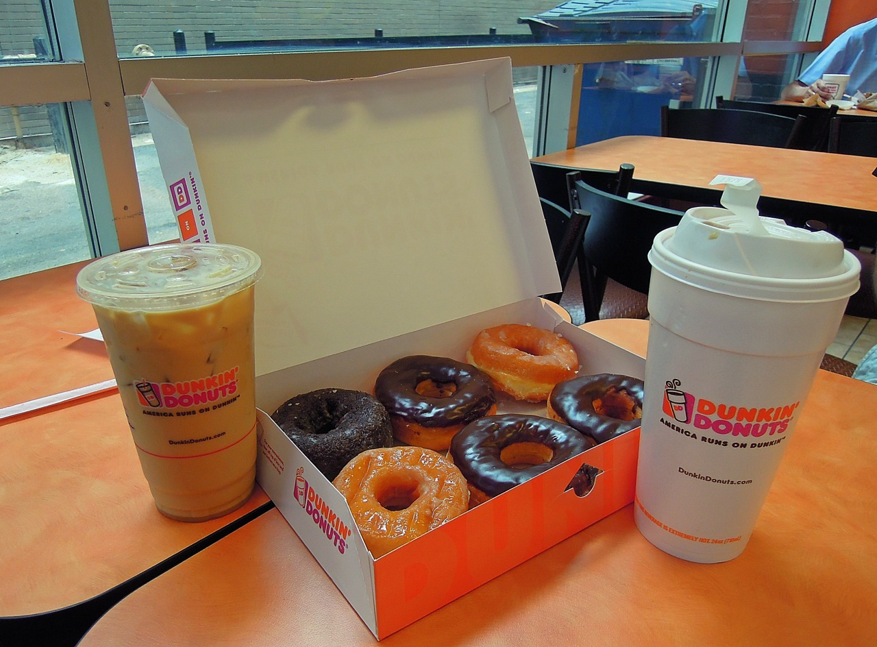 The need to get Dunkin donuts on the west coast
