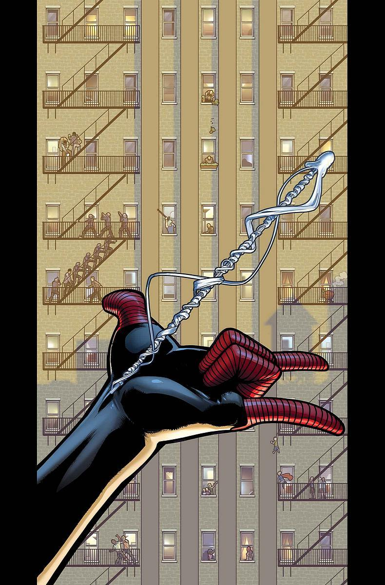 thezodiack:  Ultimate Comics Spider-Man #26 cover by David Marquez