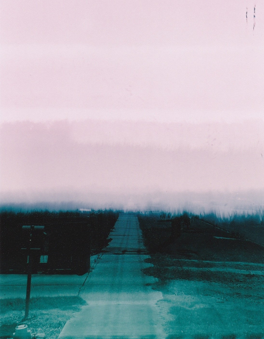 Drove Through Ghosts To Get Here Canon EOS3000 | 28-200mm Light Leaks 400 C-41 B+W