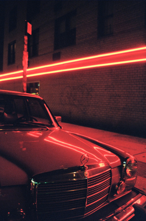 "dandymackay:  Tracy Bailey Jr - ""Red Light Mercedes Benz"""